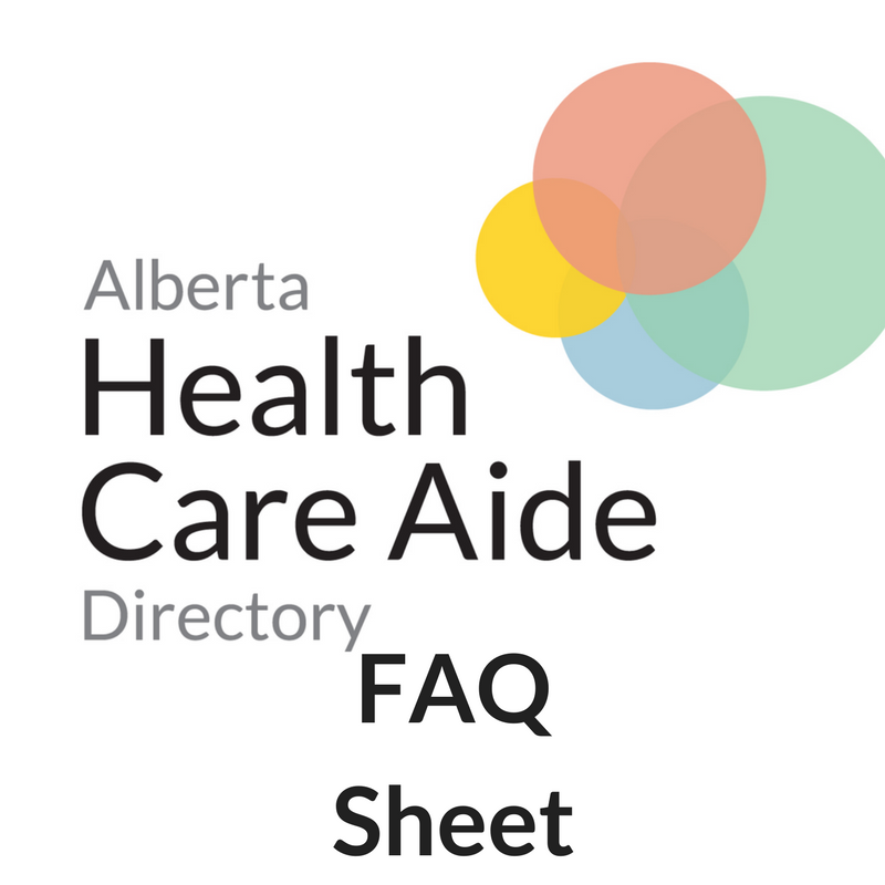 For Health Care Aides Hca Directory