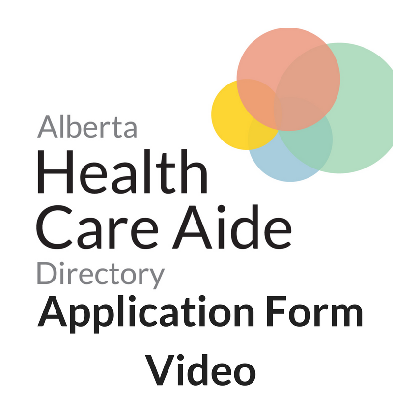HCA Directory Application Form How To YouTube Video
